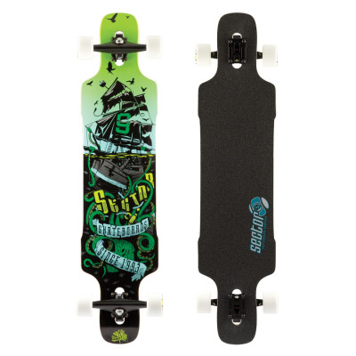 Red Snap sector9-longboards-dropper-green