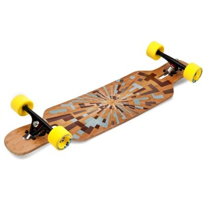 RED SNAP LOADED TAN TIEN LONGBOARD FLEX 2